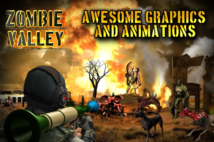 Zombie Valley screenshot-0