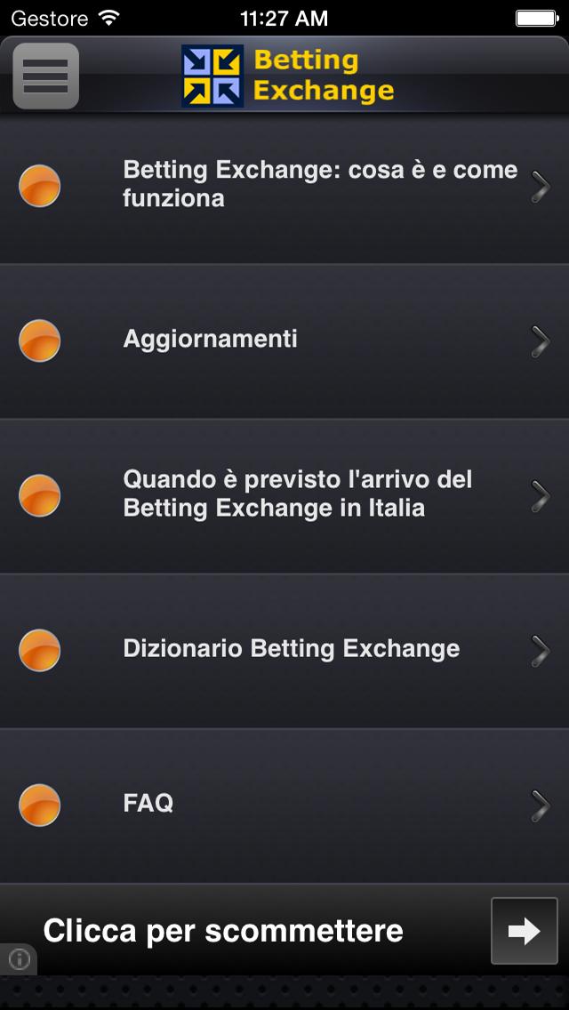 Betting Exchange !