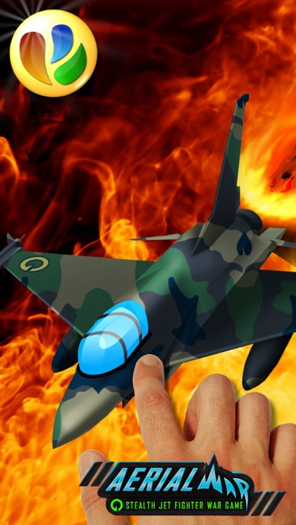 Aerial War - Stealth Jet Fighter War Game screenshot-4
