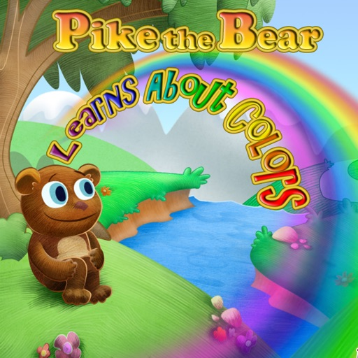 Pike the Bear learns about colors