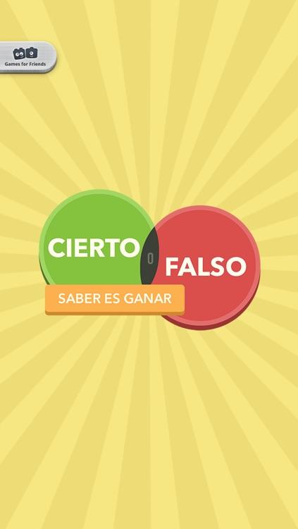Cierto o falso, saber es ganar screenshot-4