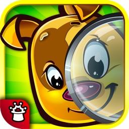 Найди и покажи животное ― прятки с Рексом – развивающая игра для малышей (полная версия)