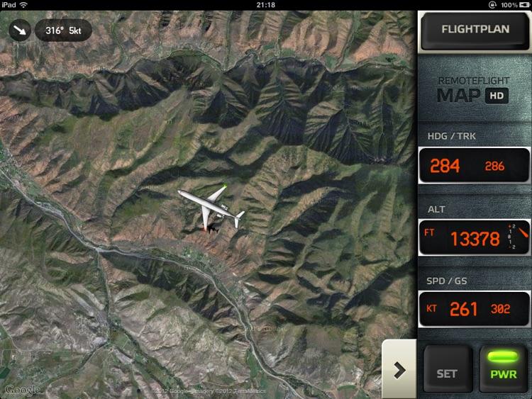 RemoteFlight MAP HD screenshot-4