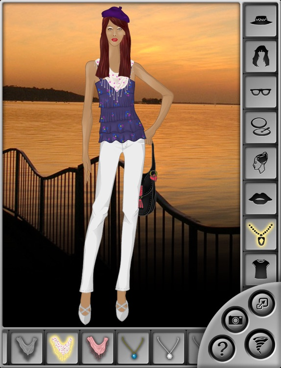 Fashion Sketchbook: The Stylish Dress Up Game for iPad