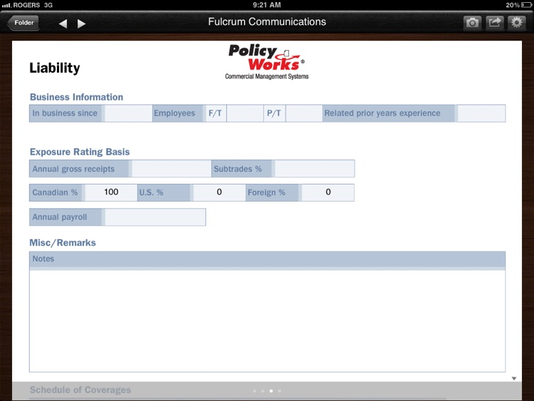 Policy Works Producer screenshot-3
