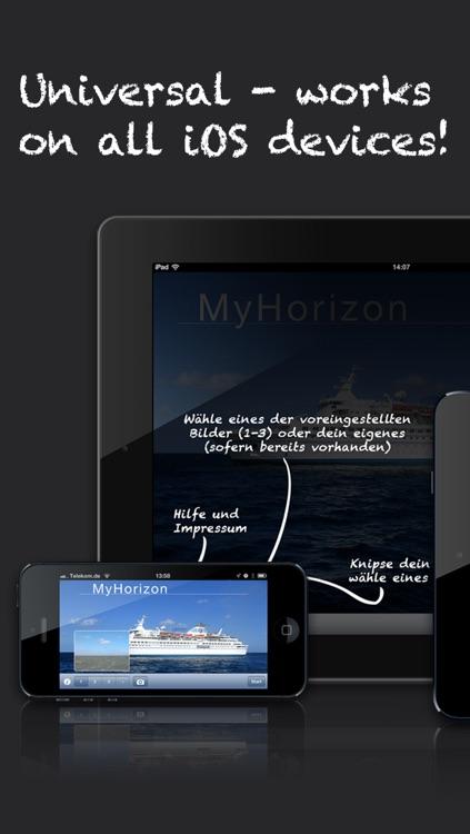 MyHorizon - Avoid sea sickness