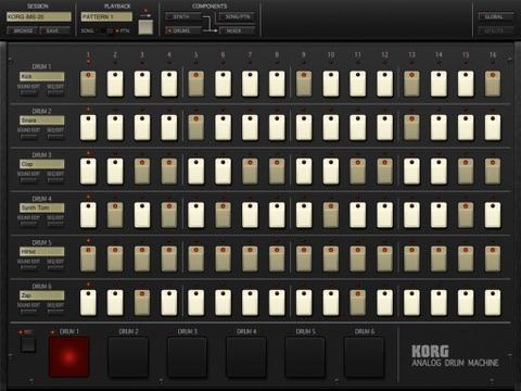 Screenshot #4 for KORG iMS-20