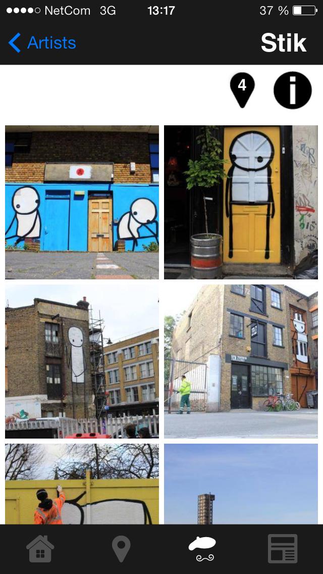 Street Art London screenshot