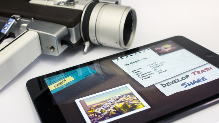 iSupr8 - Super 8mm HD Vintage Video Camera screenshot-3