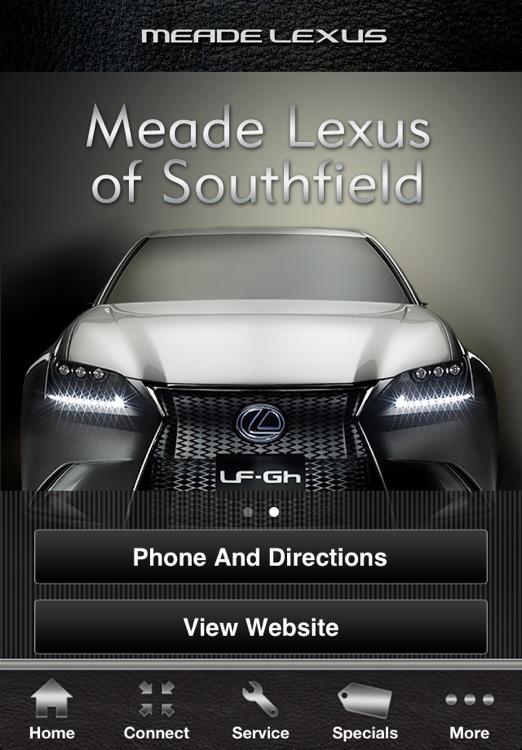 Meade Lexus Owner's Garage