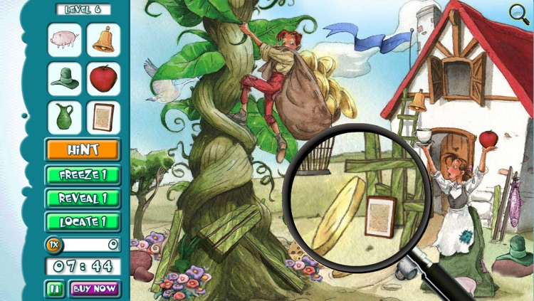 Hidden Object Game Jr FREE - Jack and the Beanstalk screenshot-0