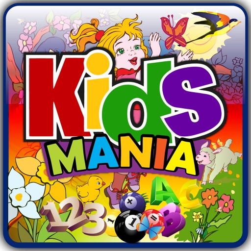 Kids Mania Pro / A-B-C Alphabets / Mathematics / Quiz / Animal Sounds