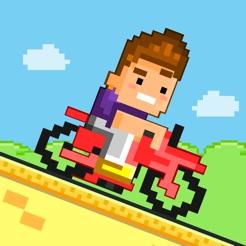 Bike Heroes Play Free 8 Bit Pixel Giochi Di Moto 2048 Ragazze Per