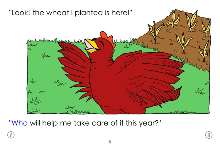 The Little Red Hen screenshot-3