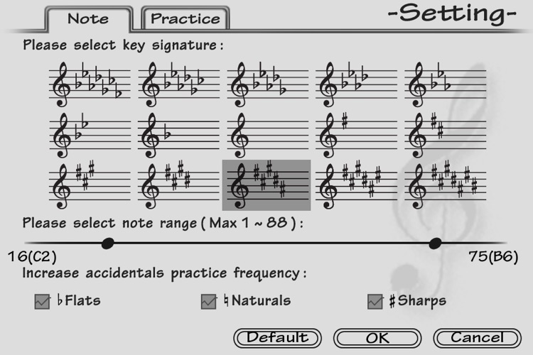 Piano Sight Reading - Free screenshot-1