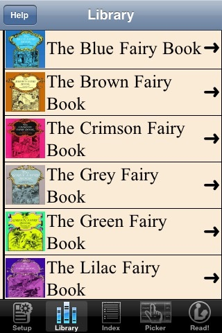 Colored fairy books by Andrew Lang(12 books)lite | App Price Drops