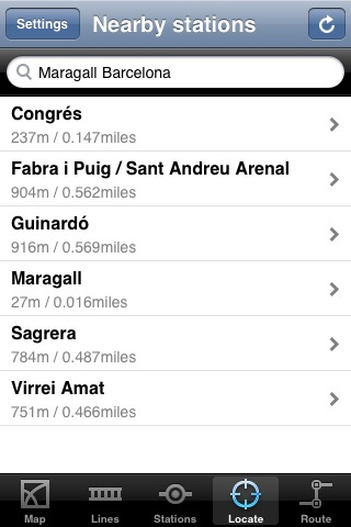Barcelona Subway screenshot-2
