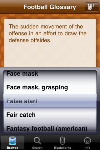 Football Glossary screenshot-0