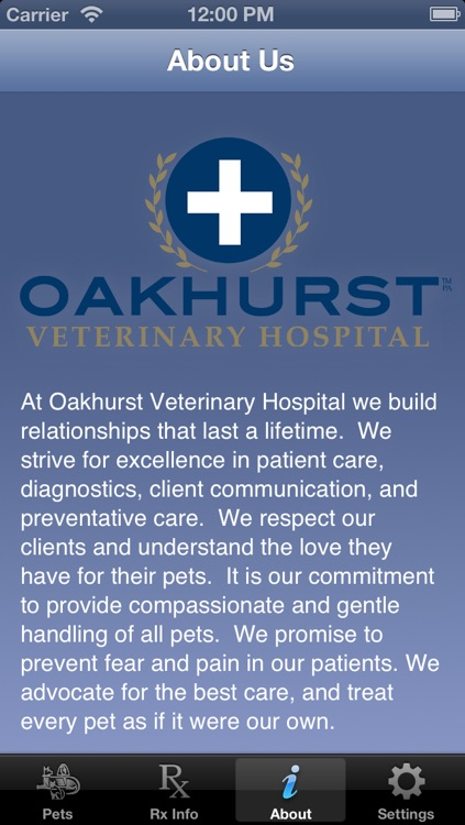Oakhurst Vet Medication Reminder