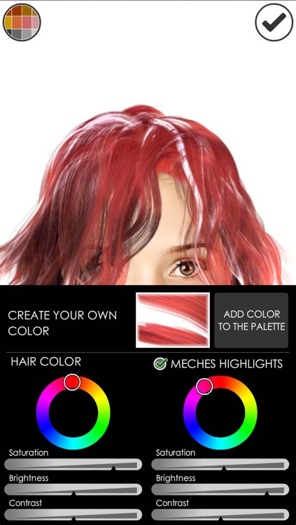 Hairstyle Magic Mirror Change your look Lite screenshot-3