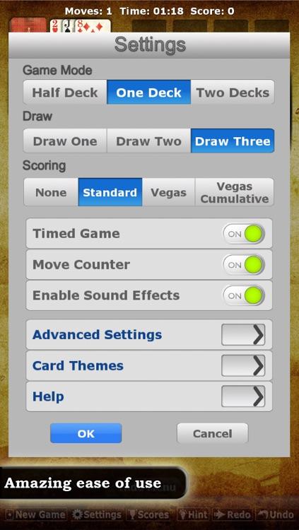 * Solitaire Double-Deck HD * screenshot-3