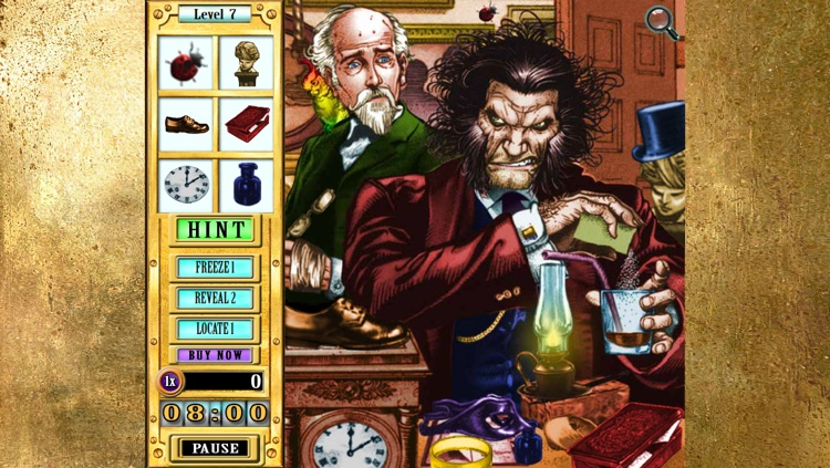 Hidden Object Game Jr FREE - Dr. Jekyll and Mr. Hyde screenshot-3
