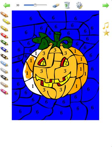 Kleuren Op Nummer Kleurplaten.Kleuren Op Nummer Voor Kinderen Kleurplaten Genummerd Ipad App