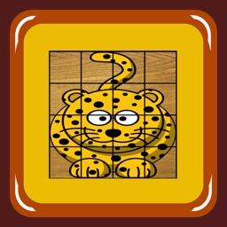 Flip Animals Puzzle (zoo and domestic animals)