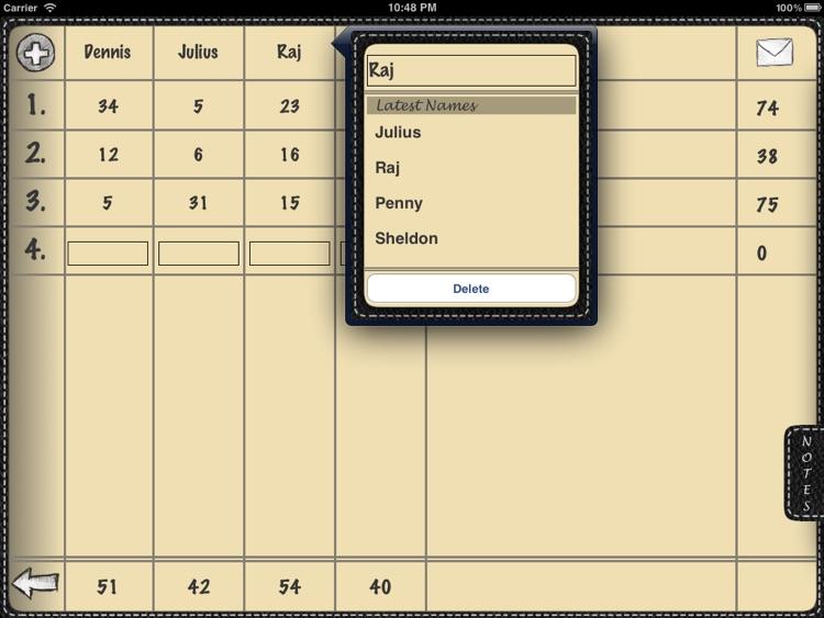 Scoreboard for iPad screenshot-4