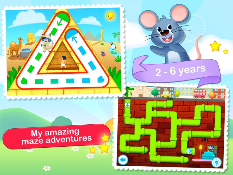 Toddler Maze 123 - Fun learning with Children animated puzzle game