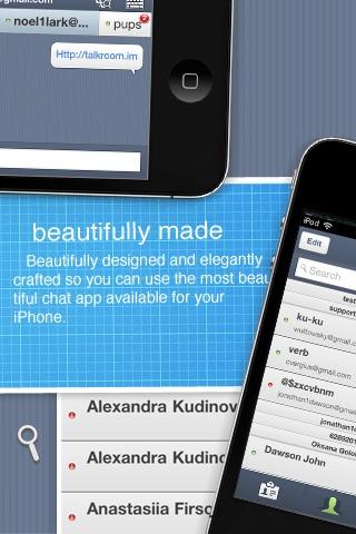 TalkRoom - Multiservice instant messenger screenshot-4