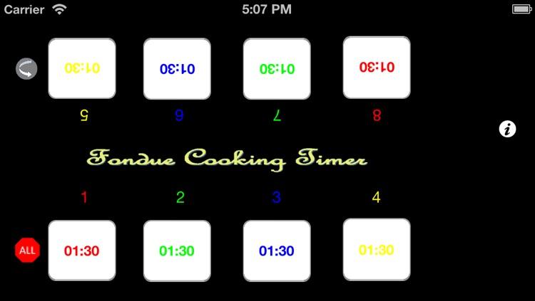 Fondue Cooking Timer