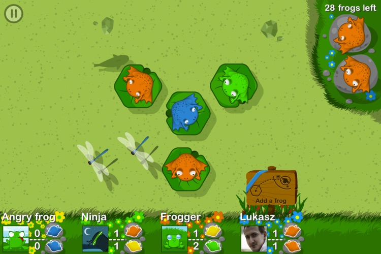 Army of Frogs HD screenshot-3