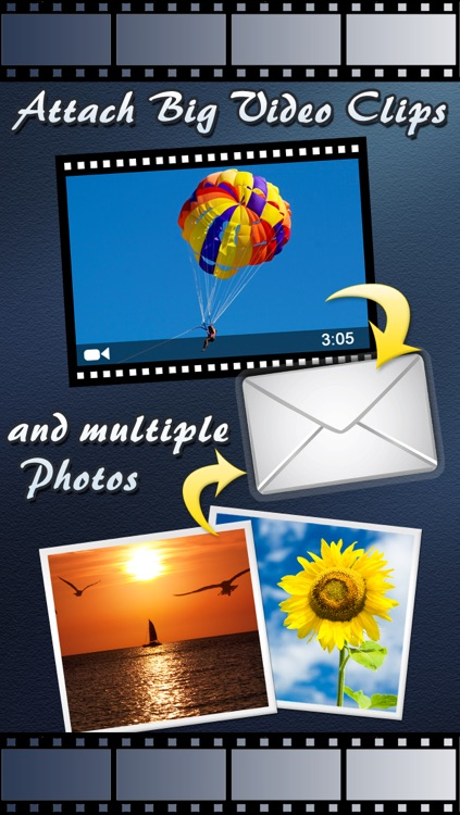 Video Email (+ Photos) : Videos & Multiple Photo Sharing through Email
