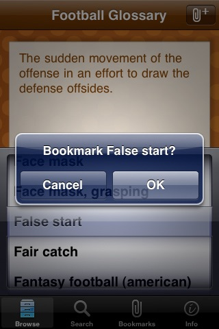 Football Glossary screenshot-2