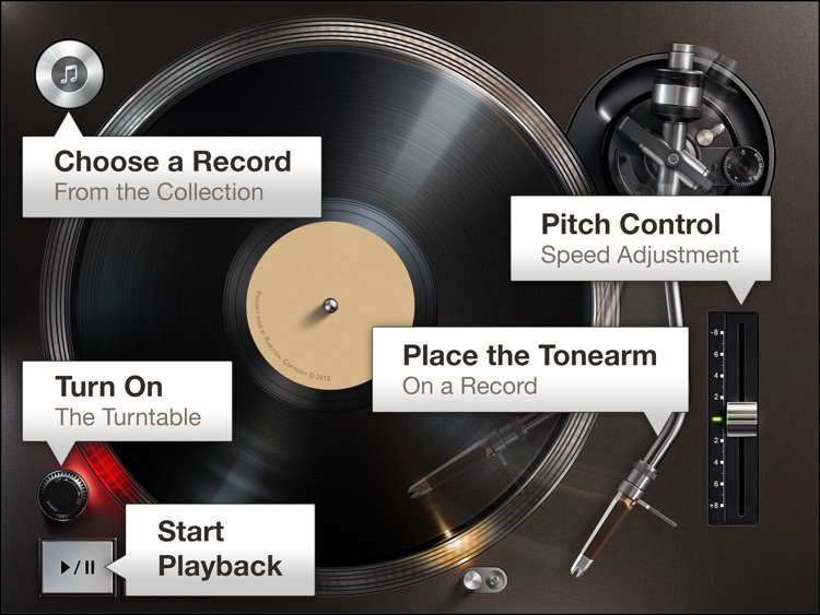 Turnplay - The #1 vinyl record player for iPad screenshot-2