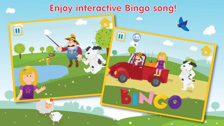 Kids Apps ∙ Bingo ABC alphabet phonics song. Interactive Nursery Rhymes with Karaoke music. screenshot-4