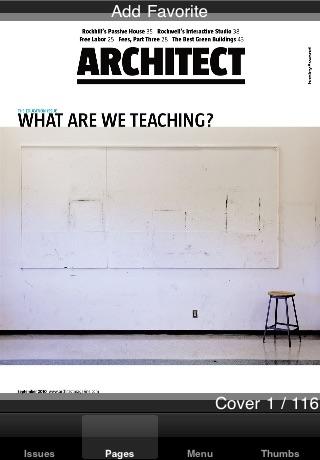 Architect Magazine Mobile Reader