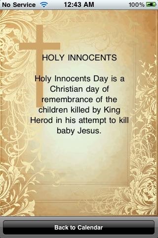 Christian Calendar screenshot-3