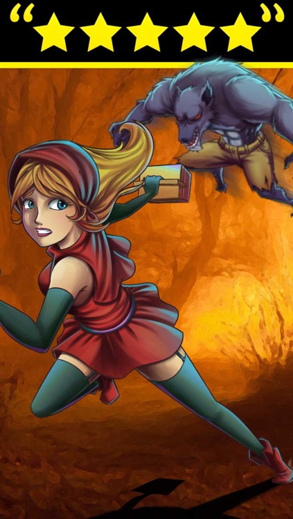 Fantasy Fairy Tales Chapter 1:  Little Red Riding Hood's Kingdom Run