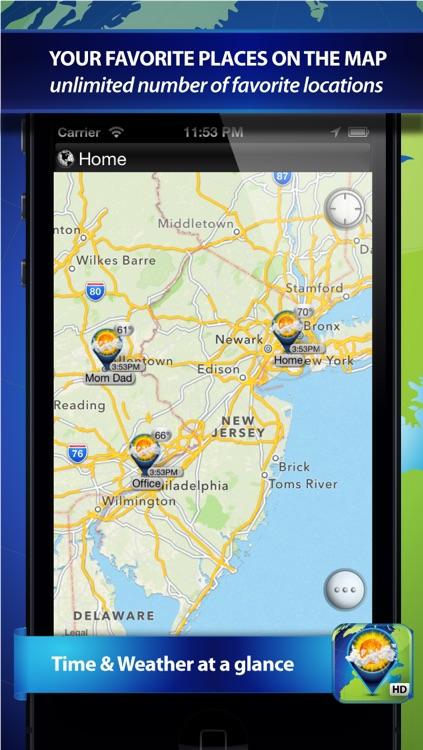 Weather Travel Map screenshot-3