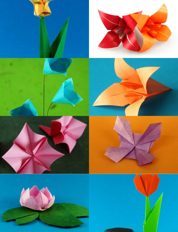 Origami Flowers HD screenshot-1