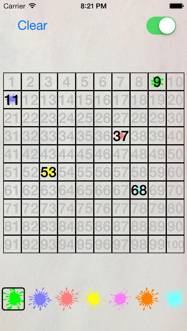 Number Splat screenshot two