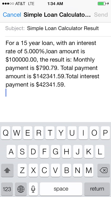Simple Loan Calculator screenshot-2