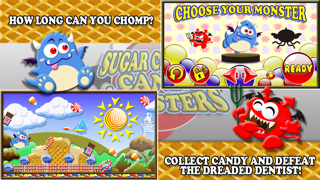 Sugar Candy Land Rush!  A Crazy Sweet Tooth Monster vs.