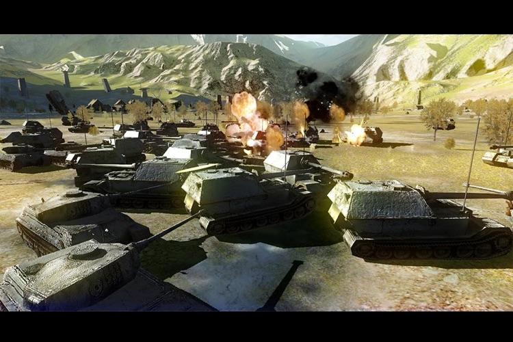 Battlefield Tank screenshot-3