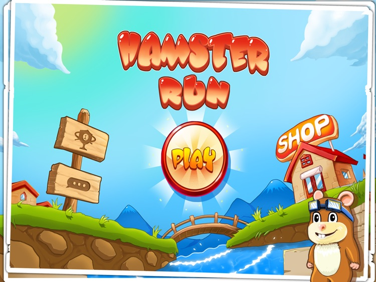 Hamster Run HD screenshot-4