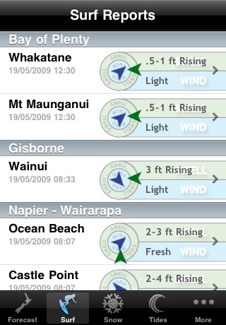 WeatherNZ screenshot three