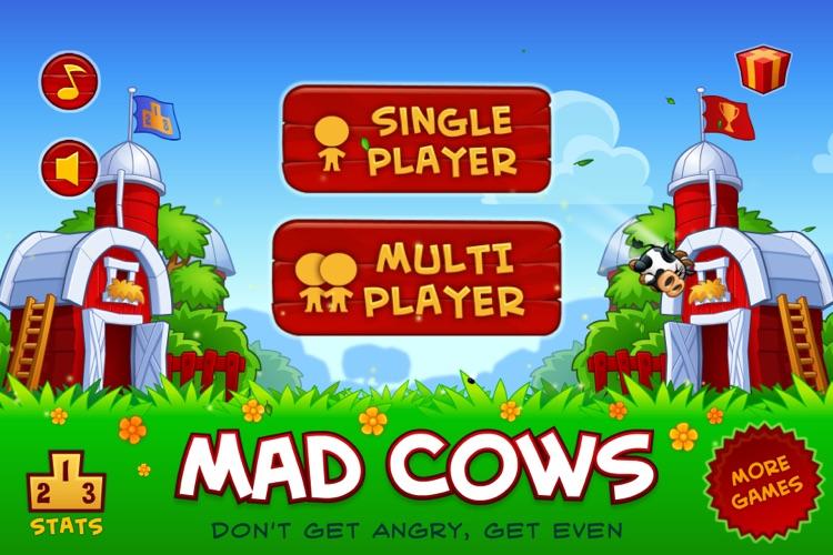 Mad Cows Free Throw screenshot-4