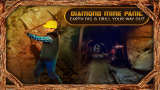 Diamond Mine Panic : Earth Dig & Drill your way out -Free